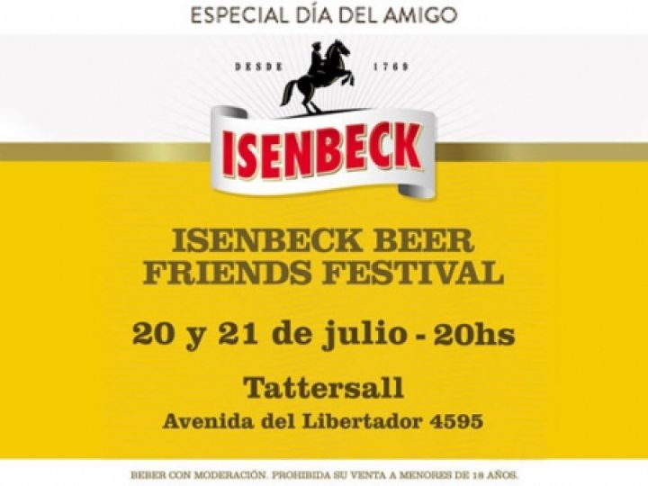 ISEMBECK BEER FRIENDS FESTIVAL